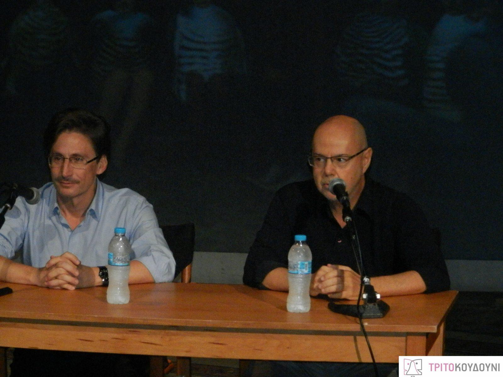 Δημήτρης Τάρλοου και Γιάννης Χουβαρδάς
