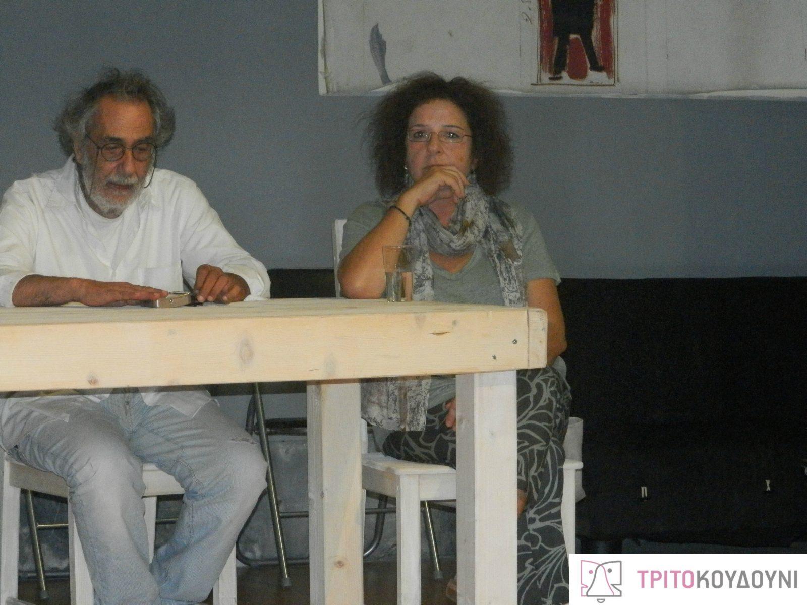 Κώστας Αρζόγλου, Κατερίνα Καμπανέλλη